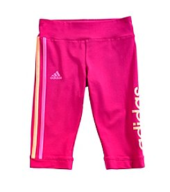 adidas® Girls' 2T-6X Work Out Capris