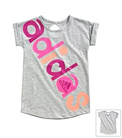 adidas® Girls' 2T-6X All-In-One Tee