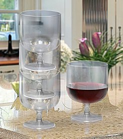 Epicureanist™ Acrylic Set of 8 Wine Glasses