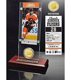 NHL® Philadelphia Flyers Claude Giroux Ticket and Bronze Coin Desktop Acrylic