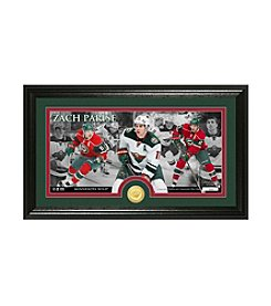 NHL® Minnesota Wild Zach Parise Bronze Minted Coin Panoramic Photo