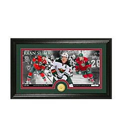 NHL® Minnesota Wild Ryan Suter Bronze Minted Coin Panoramic Photo