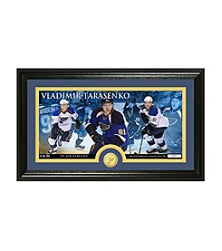 NHL® St. Louis Blues Vladimir Tarasenko Bronze Minted Coin Panoramic Photo