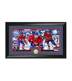 NHL® Montreal Canadiens Alex Galchenyuk Bronze Minted Coin Panoramic Photo