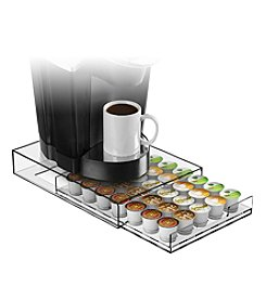 Mind Reader 35-Cup Clear Coffee Pod Drawer