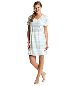 Intimate Essentials® Stripe Sleepshirt