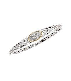 .20 ct. t.w. Diamond Bangle Bracelet