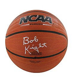 Steiner Sports Memorabilia Men's Bob Knight Signed NCAA Wave Basketball (Silver)