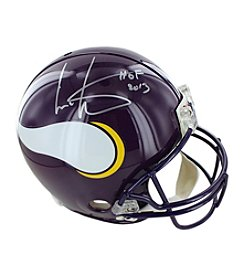 NFL® Minnesota Vikings Cris Carter Signed Proline Helmet with Inscription