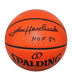 Steiner Sports NBA Signed Basketball by Hall of Famer John Havlicek