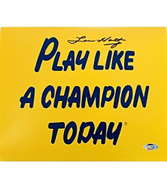Steiner Sports Memorabilia Men's Lou Holtz Play Like A Champion Today 8x10 Photograph