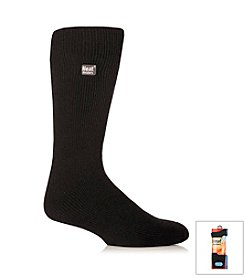 Heat Holders Men's Black Bigfoot Thermal Socks