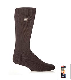 Heat Holders Men's Charcoal Bigfoot Thermal Socks