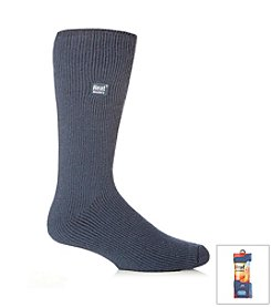 Heat Holders Men's Denim Bigfoot Thermal Socks