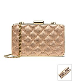 MICHAEL Michael Kors® Elsie Quilted Metallic Box Clutch
