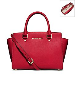 MICHAEL Michael Kors® Selma Saffiano Leather Medium Satchel