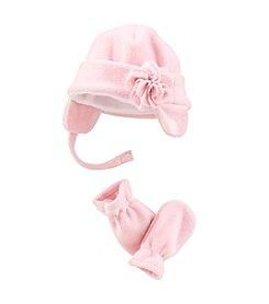 Mambo® Girls' 2T-4T Flower Fleece Set