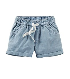 Carter's® Girls' 2T-6X Pull-On Denim Shorts