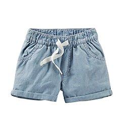 Carter's® Girls' 2T-6X Pull-On Denim Shorts