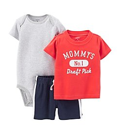Carter's® Baby Boys' 3-Piece Bodysuit And Shorts Set