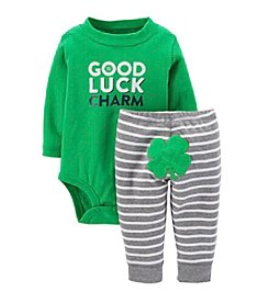 Carter's® Baby Boys' St. Paddy's Day Bodysuit And Pants Set