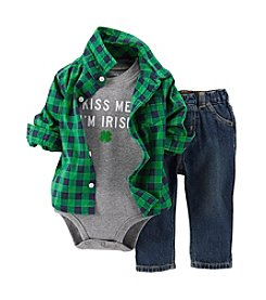 Carter's® Baby Boys' St. Paddy's Day 3-Piece Set