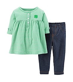 Carter's® Baby Girls' St. Paddy's Day Tunic & Pants Set