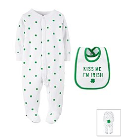 Carter's® Baby Boys' St. Paddy's Day Sleep & Play Set