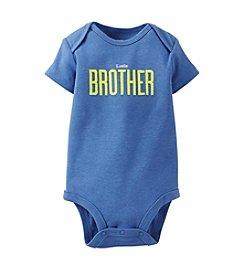 Carter's® Baby Boys' Little Brother Bodysuit