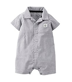 Carter's® Baby Boys' Cotton Striped Romper