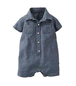 Carter's® Baby Boys' Chambray Romper