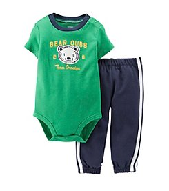 Carter's® Baby Boys' Bear Cubs Team Grandpa Bodysuit Set