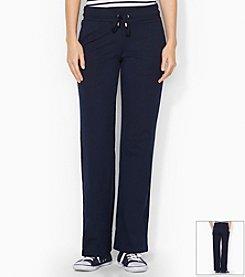 Lauren Active® Petites' Straight-Leg Cotton Pant