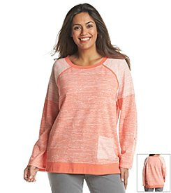 Jones New York Sport® Plus Size Raglan Pullover