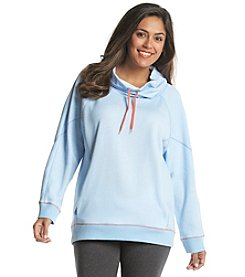 Jones New York Sport® Plus Size Cowl Neck Sweat Shirt