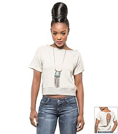Poetic Justice® Off the Shoulder Top