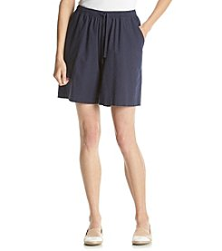 Cathy Daniels® Solid Pull On Shorts