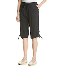 Cathy Daniels® Solid Pull On Skimmer Pant