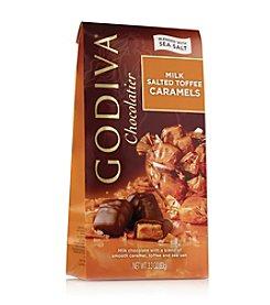 Godiva® Chocolatier Milk Salted Toffee Caramels