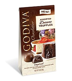 Godiva® Chocolatier Assorted Dessert Truffles