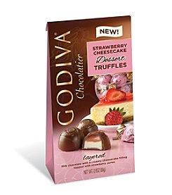 Godiva® Chocolatier Strawberry Cheesecake Dessert Truffles