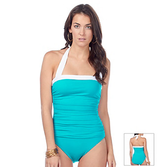 00c8cc78397 UPC 726419706257 product image for Lauren Ralph Lauren Bel Aire Solids  Shirred One Piece Swimsuit ...