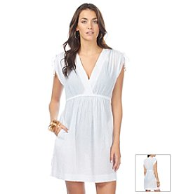 Lauren Ralph Lauren® Crushed Farrah Cover Up Dress