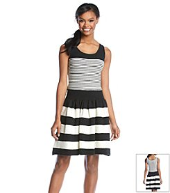 Jessica Simpson Lylee Stripe Sweater Dress