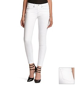 KIIND OF White Skinny Jeans