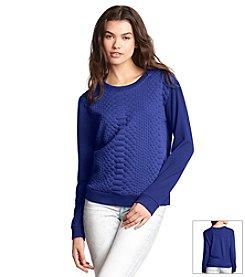 KIIND OF Texture Sweatshirt