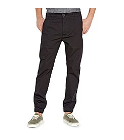 Levi's® Men's Twill Black Chino Joggers