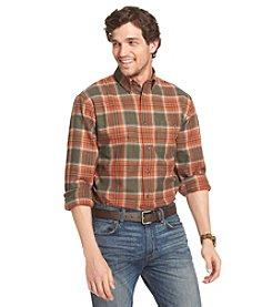 Bass® Men's Long Sleeve Fireside Flannel Shirt