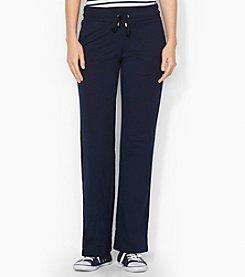 Lauren Active® Straight-Leg Cotton Pant