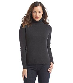 Jeanne Pierre® Turtle Neck Sweater